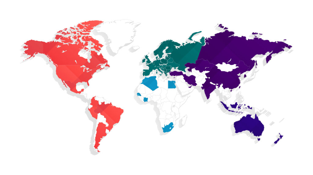 70 countries map
